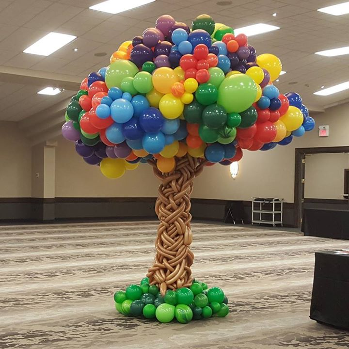 Awesome balloon creation made by someone outside of our area. However, we could do…
